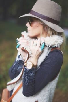 Familiar Ground by Happily Grey | love her rings; the turquoise is gorgeous.