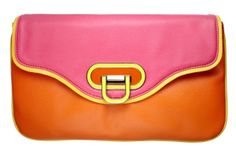 Fabulous Fashion Under $50: The perfect way to test out the neon trend (and incite some envy in your friends). Apt. 9 clutch, $49; kohls.com. #NewRedbook