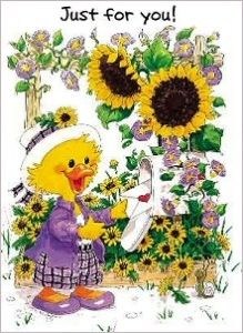 Suzy Zoo Birthday Cards | gift enclosure card suzy s zoo sunflowers gift enclosure card