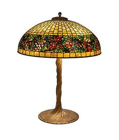 Tiffany Studios Table Lamps height: 27.75 in.  x diameter: 20.5 in.