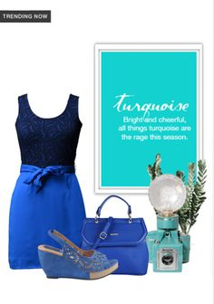 Exclusive Look by Malavika Blue Wedges, Blue Handbags, Trending Now, Vip, Blue Dresses, Scrap, Turquoise, Stuff To Buy, Shopping
