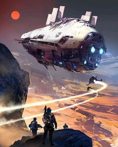 "34 Likes, 2 Comments - @ink_atelier_nyc on Instagram: ""@horseman09  Title: Icarus Corps - book cover. Artist: Sparth #horseman09 #artstation #deviantart…"""
