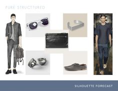 trend forecast - silhouette - pure structured // spring summer 2015