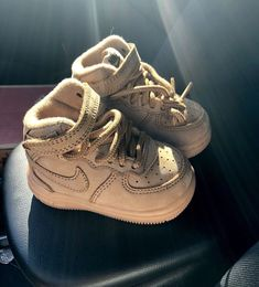 buy popular 7135a 5eba8 Nike Air Force One Mid LV8 Wheat Gum Toddler Shoes Size 3c  fashion   clothing  shoes  accessories  babytoddlerclothing  babyshoes (ebay link)