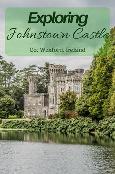 Johnstown Castle is a hidden gem in Wexford, Ireland with gorgeous gardens designed by the same man who designed the gardens at Powerscourt Estate. Ireland Travel Guide, Europe Travel Guide, Europe Destinations, Travel Guides, Travelling Europe, Backpacking Europe, Wexford Ireland, European Travel, Family Travel