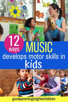 If you want to help increase your child's math, motor, memorization and language skills—you need music. Here are 12 music activities for kids that work for toddlers, preschoolers, special needs children and more. Music Activities For Kids, Music For Kids, Infant Activities, Learning Activities, Kids Learning, Early Learning, Language Development, Child Development, Music And The Brain