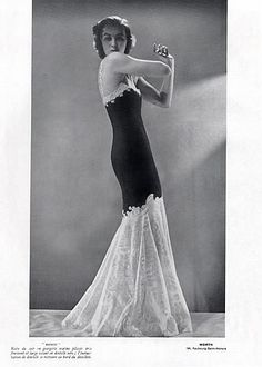 Worth 1939 Evening Gown, Fashion Photography Joffe