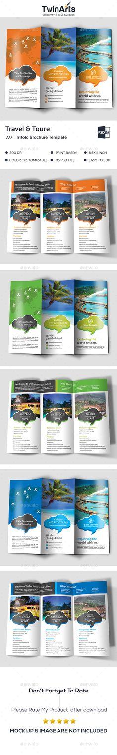 Holiday Sales Bifold   Halffold Brochure Brochures, Brochure - vacation brochure template