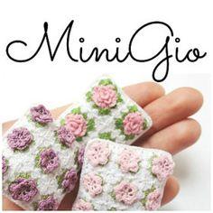 Crochet dollhouse miniatures in 12th scale by MiniGio on Etsy