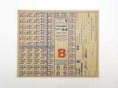 """DDR Museum - Museum: Objektdatenbank - """"Lebensmittelkarte April 1955"""" Copyright: DDR Museum, Berlin. Eine kommerzielle Nutzung des Bildes ist nicht erlaubt, but feel free to repin it!"""