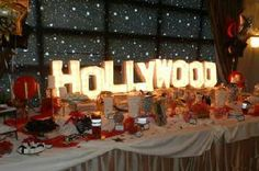 Fiesta Temática de Hollywood