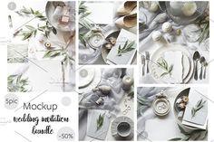 Mockup Wedding Bundle by Ekaterina_Vi on @creativemarket