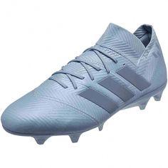 buy popular f1e6a 72340 adidas Nemeziz Messi 18.1 FG – Ash Blue Raw Grey