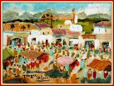 Michele de Luca (Tanger 1958): Michele de Luca (Tanger 1958) Pintor tangerino ítalo-español.