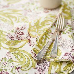 Couleur Nature Bakit Bird Table Cloth