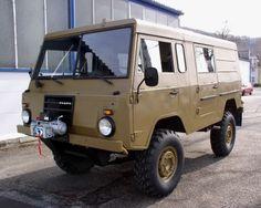 Cool Van/thing? 1975 Swedish Military Volvo C303 / TGB 11, 125 HP