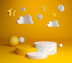 Photography Studio Decor, Object Photography, Children Photography, Geometric Background, Art Background, Cute Baby Boy Images, Geometry Shape, Photoshoot Themes, Yellow Paper