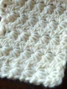 Star Stitch crochet... little different, but the star is really accented.