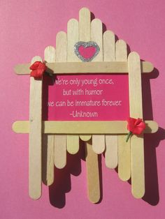 crafts | Ice cream stick craft | Saumya's Cards and Crafts