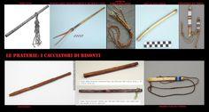Le danze rituali erano accompagnate principalmente da strumenti a percussione (tamburi, sonagli). I flauti erano usati praticamente solo nel rituale di corteggiamento, l'unico altro strumento erano i fischietti usati dai danzatori.