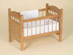 1000 images about baby doll beds or cradles on pinterest Wooden baby doll furniture