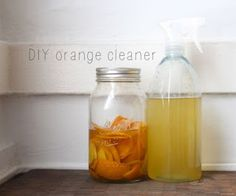 Homemade Orange Degreaser #housekeeping #cleaning #natural