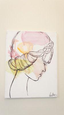 Inspire India: Gallery  Watercolor Portrait