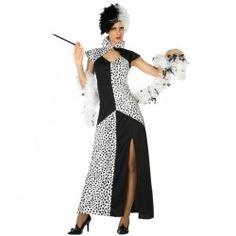 #Disfraz de #Cruella En mercadisfraces tu tienda de #disfraces online disponemos…