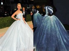 Couture LED Dress by Zac Posen Lights up the Met Gala