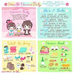 © / Hanami Party / Cherry blossom viewing /Spring in Japan Go To Japan, Visit Japan, Japan Trip, Japanese Travel, Cute Japanese, Yukata, Desu Desu, Japan Info, Japan Holidays