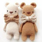Häkelanleitung Golden Bear by Hannapopana on EtsyBrowse unique items from Hannapopana on Etsy, a global marketplace of handmade, vintage and creative goods.Discover recipes, home ideas, style inspiration and other ideas to try. Amigurumi Doll Pattern, Amigurumi Free, Crochet Bear, Crochet Animals, Crochet Patterns Amigurumi, Crochet Dolls, Teddy Bear Toys, Stuffed Toys Patterns, Handmade Toys