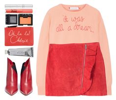 """""""#1191 It was all in a dream"""" by blueberrylexie ❤ liked on Polyvore featuring Lingua Franca, MANGO, Valentino, Zelens, Too Faced Cosmetics, Naf Naf, Bloomingville and NARS Cosmetics"""