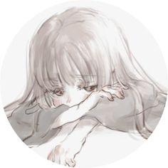 Sad Anime Girl, Anime Child, Kawaii Anime Girl, Anime Art Girl, Manga Girl, Manga Anime, Cartoon Profile Pics, Anime Profile, Deep Art