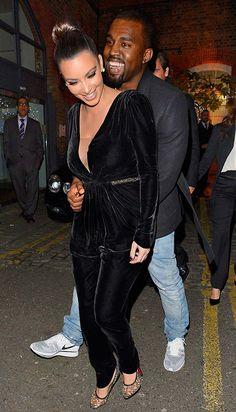 kim kardashian velvet jumpsuit - Google Search