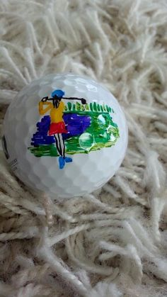 Golf ball art by EURA