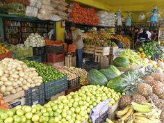 Fruit and Vegetables, Puerto Vallarta, Mexico.