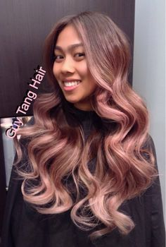 Guy Tang - West Hollywood, CA, United States. Graduated iridescent blush ombré by Guy Tang