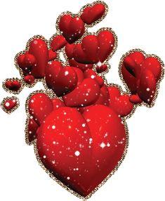 Открытки блестящие сердцем, картинки какими