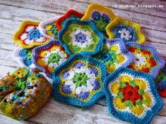 Häkeldecke #3  /  Crochet blanket #3  minkamo.blogspot.de