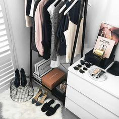 Curate A Corner - How To Make Your Exposed Closet Look Elevated - Photos