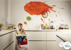 Get messy Be creative  We'll take care of all the mess