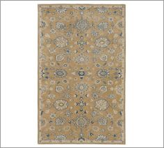 Bryne Persian-Style Rug | Pottery Barn.  Great Room?