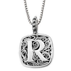 Lori Bonn R is for Radiant Necklace