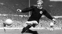 DENIS LAW---- combined skill, guts and determination in a glittering career that brought goals and glory with Manchester United FC and Scotland.To help mark UEFA's Jubilee in 2004, each national association was asked to nominate its most outstanding player of the past 50 years. SCOTLAND chose Denis Law as their Golden Player.