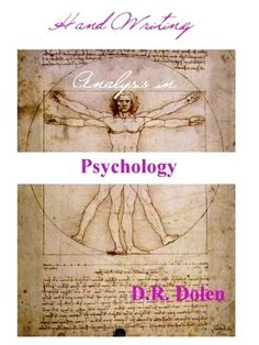 Handwriting Analysis in Psychology: Basic Theory by Deborah Dolen