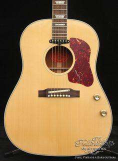 "Gibson J-160E John Lennon ""Peace"" - Natural Gibson Acoustic, John Lennon, Guitars, Music Instruments, Peace, Natural, Musical Instruments, Guitar, Vintage Guitars"