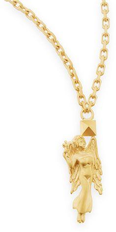 Valentino Golden Virgo Zodiac Necklace