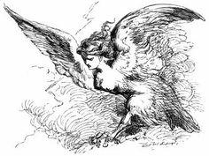 How to Knit a Mythological Harpy