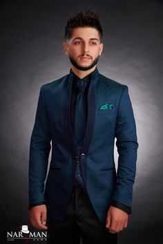 1 new message Mandarin Collar, Wedding Suits, Tuxedo, Mens Suits, Nasa, Costumes, Suit Jacket, Menswear, Smoke