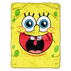 539aadbe9 Nickelodeon s SpongeBob 46x 60 Micro Raschel Throw - by The Northwest Co. -  Northwest Company